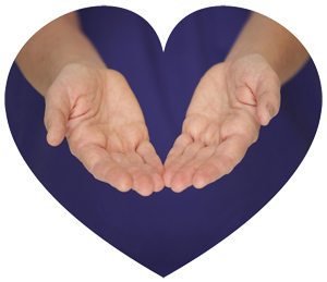 Healing hands, heart-connected massages