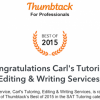 Carl's Tutoring, Editing & Writing Services